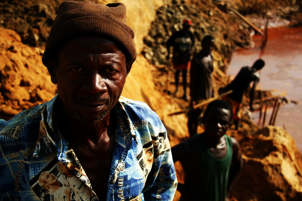 Tongo Field Diamond Miners, Sierra Leone