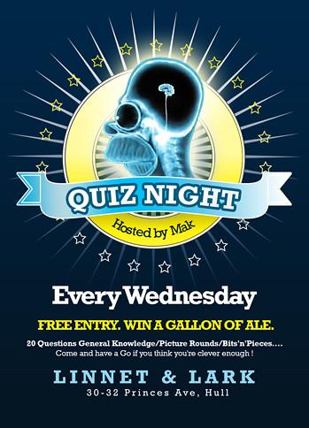 Linnet Quiz Night Flyer Steve Snowdon Flickr