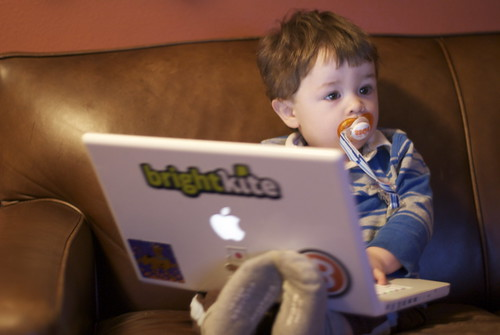 A Boy and His Mac | by Tom Carmony