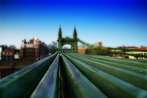 Ontop of Hammersmith Bridge | by Paul Clifford (Bannister)