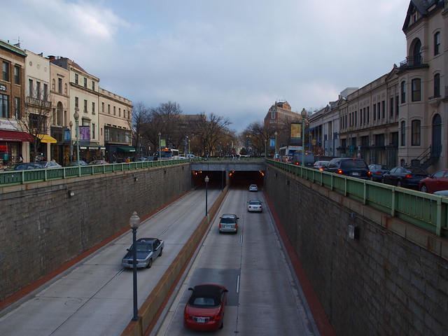 Connecticut Ave NW in Dupont Circle