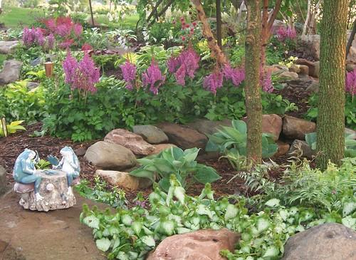 100 1708 shade garden landscape design hosta astible lam for Free rock garden designs