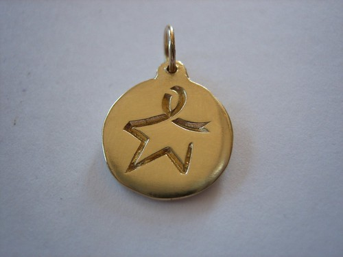 Blue Star for Colon Cancer Charm | by Blue Star for Colon Cancer