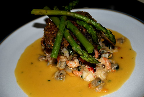 Shrimp And Crab Risotto Cakes