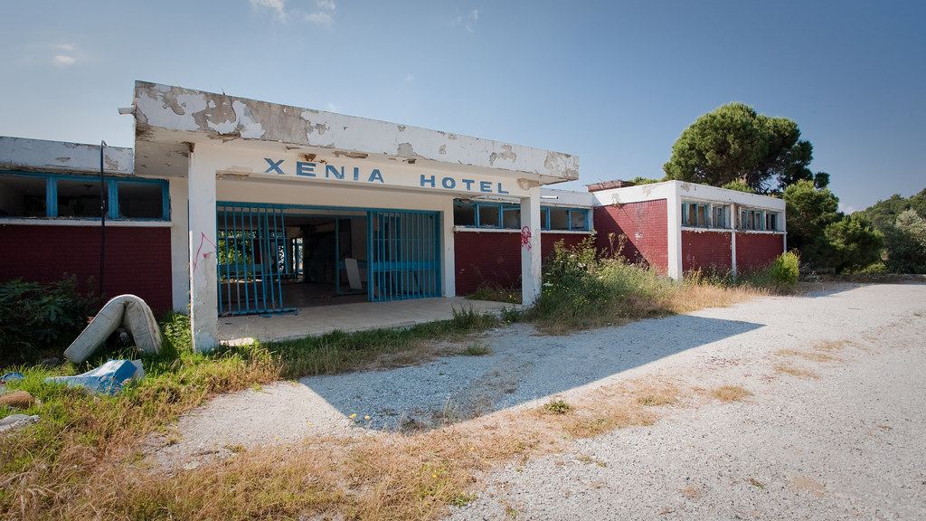 Xenia Hotel When Looking For A Quiet Beach We Found This A Flickr