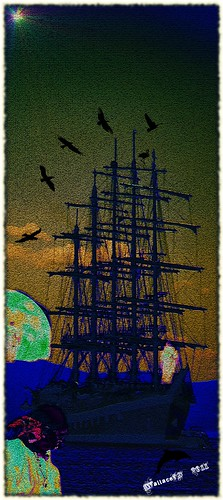 "Ghost pirate ship | by wallace39 "" mud and glory """