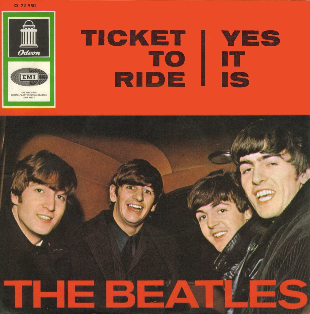 23 beatles the ticket to ride d 1965 great song  the ticket to ride d 1965 by affendaddy