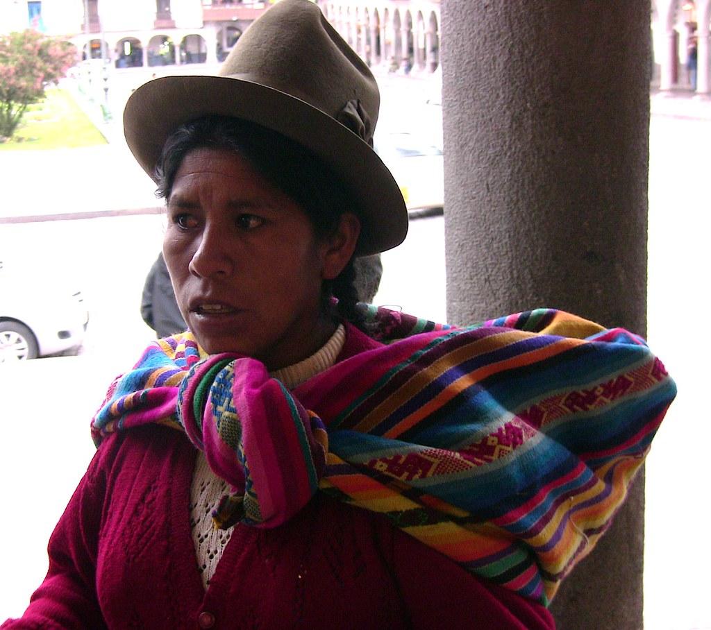 Peru Cusco Indigena Frau Mit Klassischerm Hut Roba66 Flickr