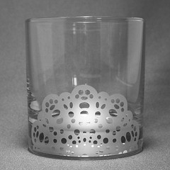 Doily double old fashioned glass | by BreadnBadger