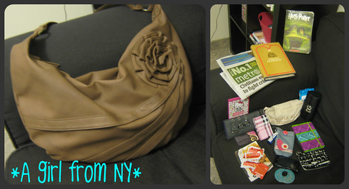 What's in my bag after a day in greenwich village | by *A girl from NY*
