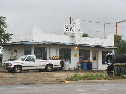 50a Shamrock TX - Route 66 Truck Parts  & Towing 02 | by Johns Never Home