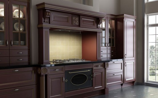 Luxury Classic Kitchen Designs By Giulia Novars 5