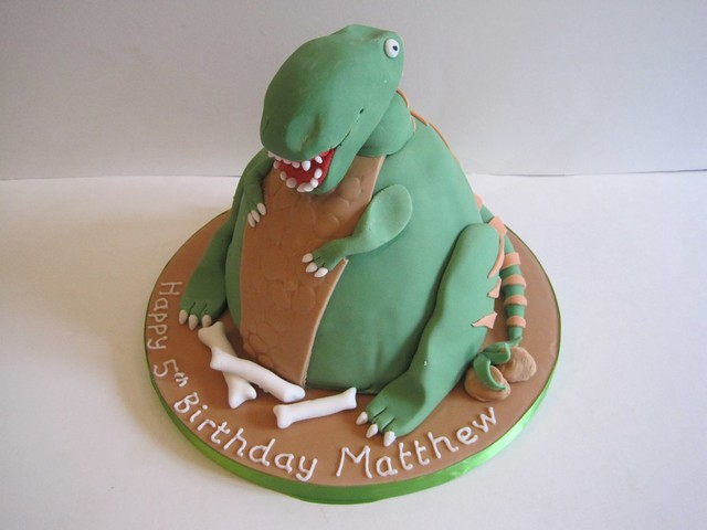 Fat TRex Cake Fat TRex Dinosaur birthday cake Chocolate Flickr