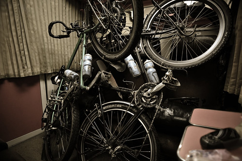 Touring Bicycles in Romanian Sleeper Car | by goingslowly