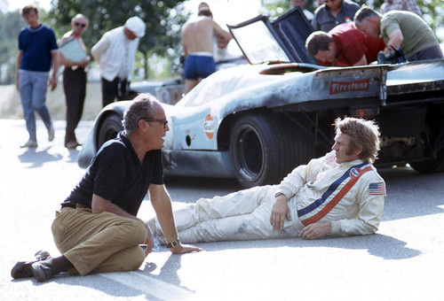 Katzin & McQueen at Le Mans | by Nigel Smuckatelli