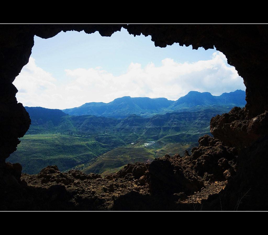 PAISAJE CON MARCO NATURAL.GRAN CANARIA ( ver en tamaño gra… | Flickr