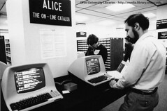 Ohio University's Alden Library Alice Catalog, 1983 | by Ohio University Libraries