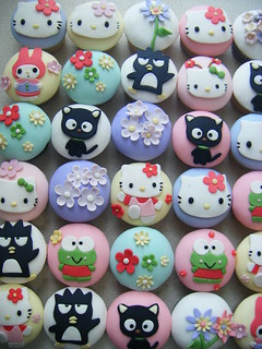Hello Kitty cupcakes | by ♥ gabby cupcakes by Gabriela Cacheux