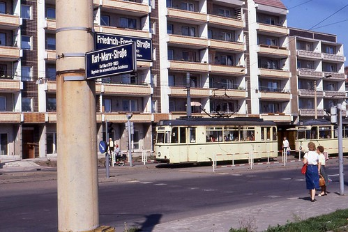 halberstadter stra enbahn trams 40 and 43 friedrich engle flickr. Black Bedroom Furniture Sets. Home Design Ideas