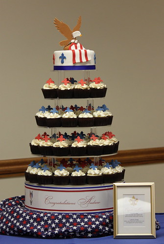 Andrew S Eagle Scout Court Of Honor The Cupcake Tower