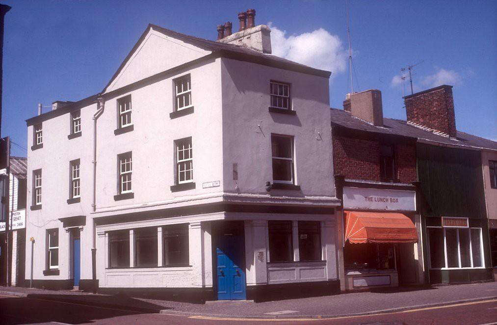 Corner Of Guys Row And Church Street Preston 1985 By Preston Digital Archive