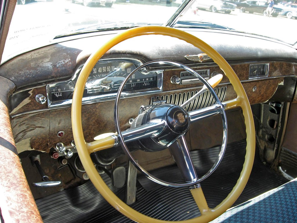 1949 Cadillac Series 62 Dashboard The Of 194 Flickr 1951 Convertible By Ate Up With Motor