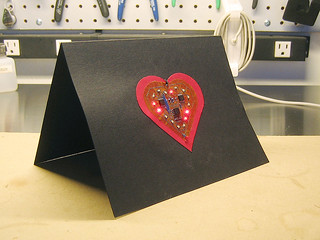 LED Valentines Day Card | by Synoptic Labs