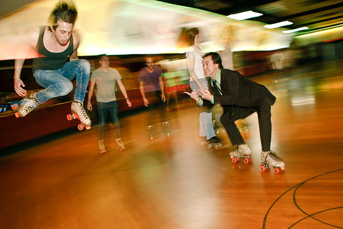 JUMP rollerskate | by laurenlemon