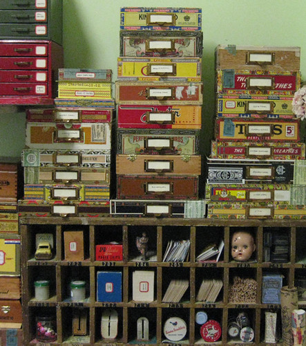 Cigar Box Storage | by Cathe Holden