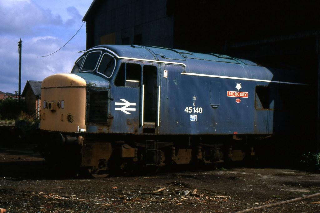 ... Class 45 45140 MC Metals 10/8/92 | by Stapleton Road