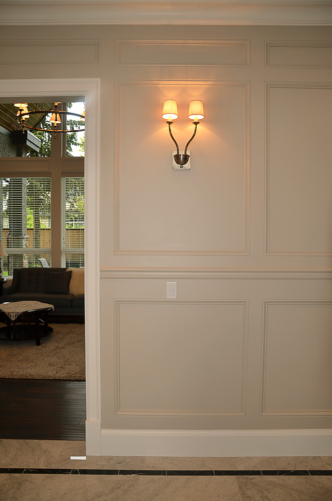 Chair Rail Orientation Part - 26: By Nucasa Chair Rails And Panel Moulding Add Interest To Wall Treatments. |  By Nucasa