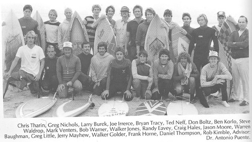 UNCW Surf Club group photo, 1983 | by UNCW Surf Club