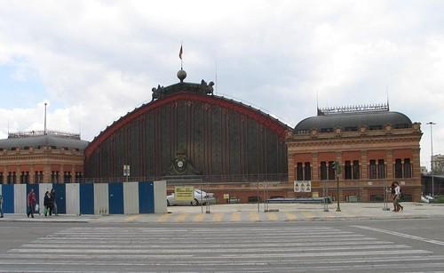 Madrid Estacion Atocha Renfe The Atocha Station In