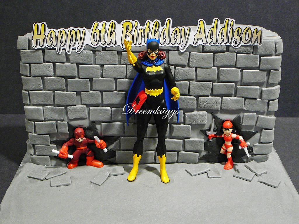 Addisons Batgirl Birthday Cake Annadreemkaggsgmail Flickr
