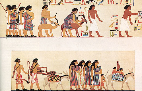 Image result for tomb painting at beni hasan