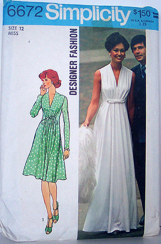 Simplicity 6672 Vintage 70\'s Sewing Pattern Princess seame… | Flickr