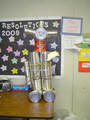 Tin can man 01 the tin can man project was carried out for How to make a tin man out of cans