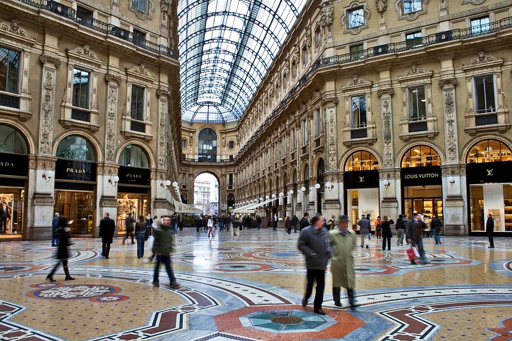 Galleria Vittorio Emanuele Ii Milano Italy Outside The P Flickr