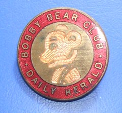 Bobby Bear Club enamel badge issued by the Daily Herald newspaper (London), early 1930s | by RETRO STU