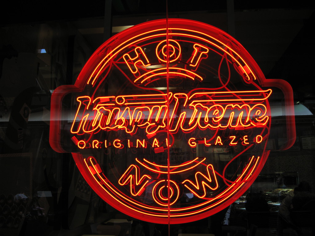 Attractive ... Krispy Kreme Doughnuts Neon Lights | By Gerardu0027s World Awesome Ideas