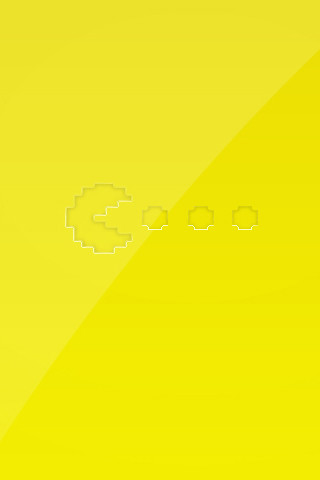 ... Pac Man Shiny Iphone Wallpaper | By Pixel Fantasy