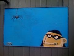 Ryan Henry Ward Painting At Car Dealership