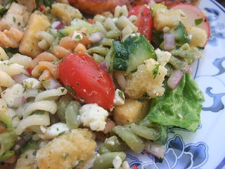 Fatoush Pasta Salad | by swampkitty