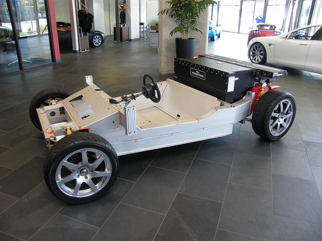 Tesla roadster chassis