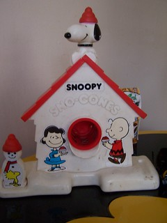 Snoopy Snow Cone Maker! | by kittykill