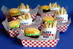 Hamburger Brownie Burger Cupcakes & Cookie Fries | by Bakerella