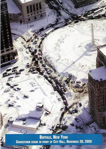 november 20  2000 snowstorm remnants  buffalo  ny