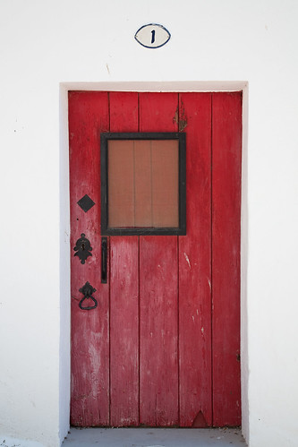 one red door | by Woplu