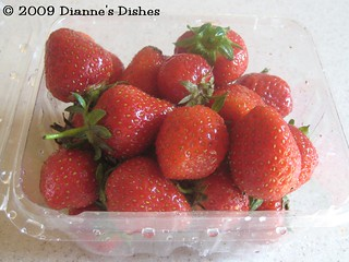 Minty Strawberry Sauce: Strawberries | by Dianne's Dishes