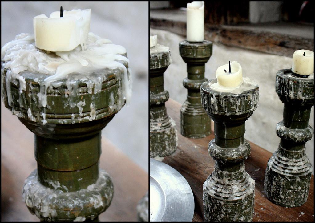 Hampton Court Palace, Kitchen, Candle Sticks | @ Hampton Couu2026 | Flickr